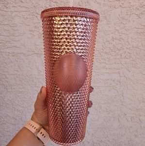 Studded Rose Gold Cup
